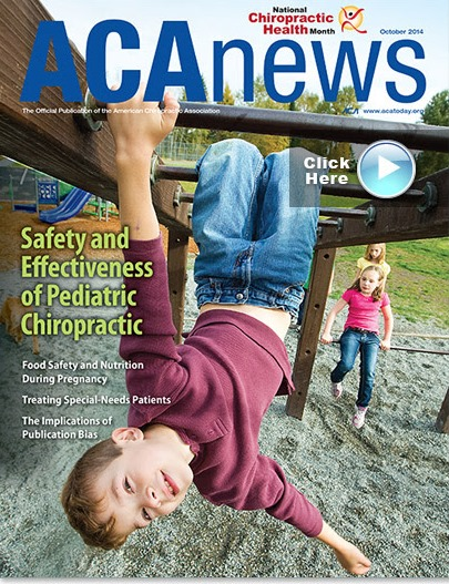 Safety and Effectiveness of Pediatric Chiropractic Care